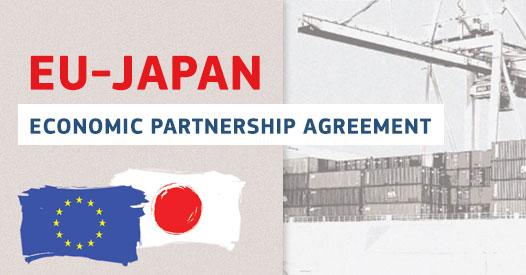 Acordo de Parceria Económica entre EU e Japão entre em vigor