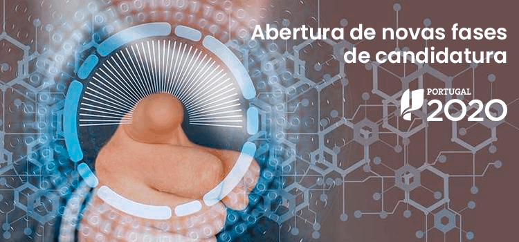 Novas candidaturas Portugal 2020